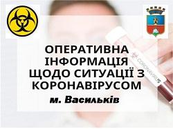 Інформація про Covid-19 м. Васильків