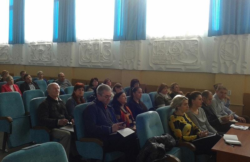 Апаратна нарада під головуванням Васильківського міського голови Сабадаша В.І.