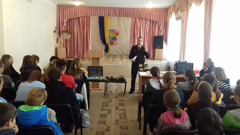 Рятувальники провели профілактичну роботу серед учнів Васильківського професійного ліцею