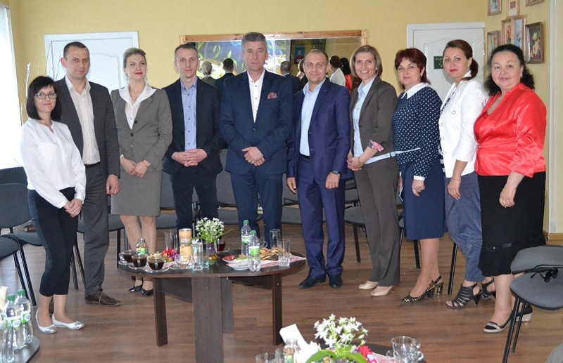 Польська делегація у Василькові