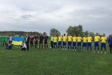 Перший футбольний матч нового футбольного клубу «Васильків»