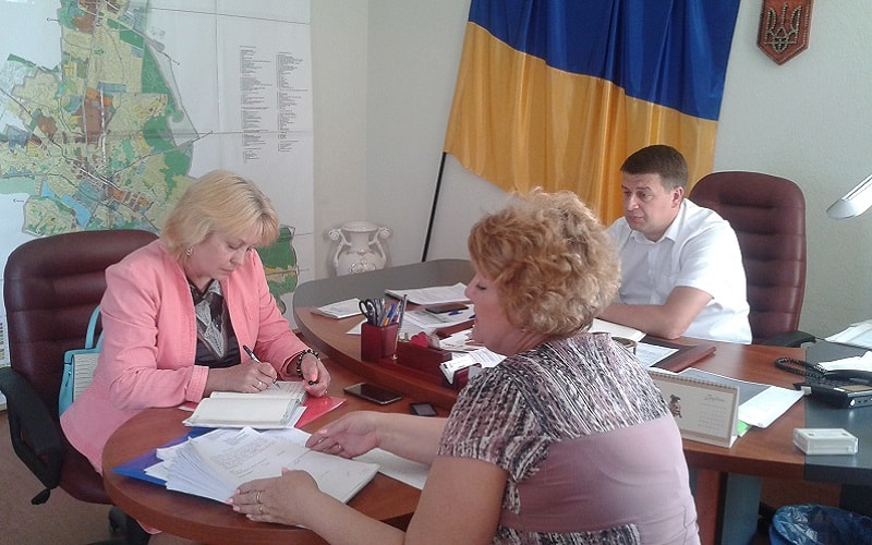 Засідання комісії з питань призначення (відновлення) соціальних виплат внутрішньо переміщеним особам