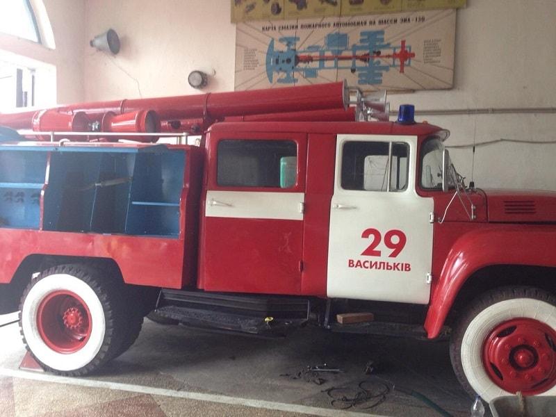 Пожежна частина отримала відремонтований пожежно-рятувальний автомобіль